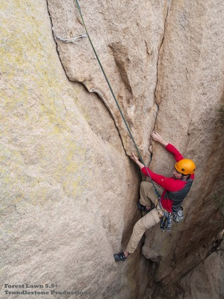 Forest Lawn-Cochise Stronghold-rock climbing