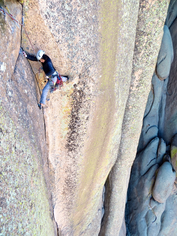 Abracadaver cochise stronghold rock climbing